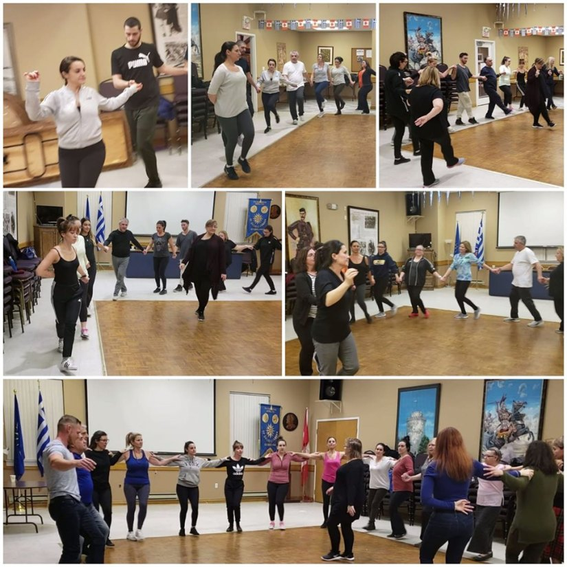 Dance Group - May 24, 2019 Thessaloniki Night collage
